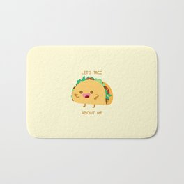 Self Centered Taco Bath Mat