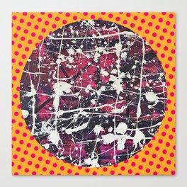 Hopkin's Bedtime - Polka dot Canvas Print