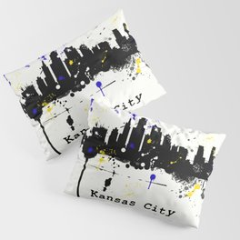 Kansas City Skyline Pillow Sham