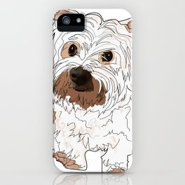 Lolo, West Highland Terrier iPhone Case