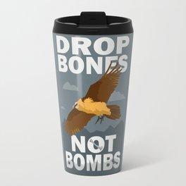 Lammergeier: Bones Not Bombs Travel Mug