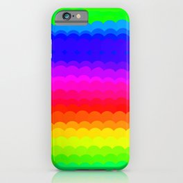 Rainbow Color S27 iPhone Case