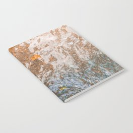 Water and foil Notebook