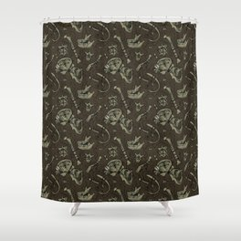Dem Bones Shower Curtain