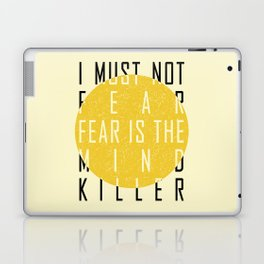 Dune - The Litany Against Fear (BLK) Laptop & iPad Skin