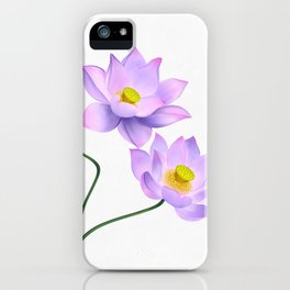 Thamarai, Yellow Flower, Floral Pattern, Yellow Blossom iPhone Case