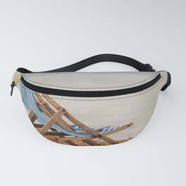 Seaside Deck Chairs Fanny Pack