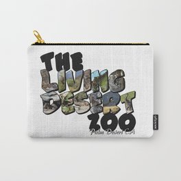 The Living Desert Zoo Big Letter Carry-All Pouch