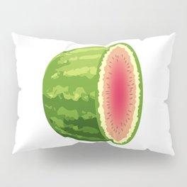 Water Melon Cut In Half Pillow Sham