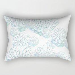 Shells Adrift Rectangular Pillow