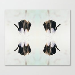Tenderness - Black and White Canvas Print