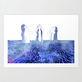 Siren's Song Art Print