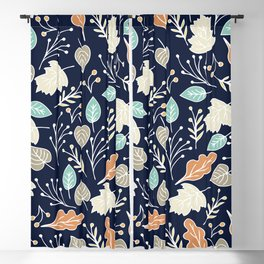 tree leaves 88 1 Blackout Curtain