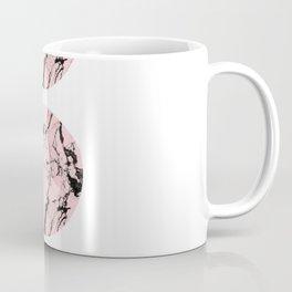 Pink Marble Moon Phases Coffee Mug