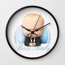 Boss Baby Wall Clock