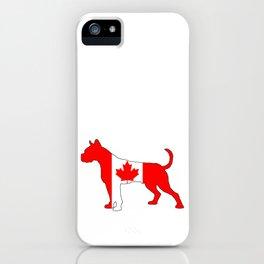 Canada Boxer iPhone Case
