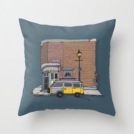 brickhouse Throw Pillow