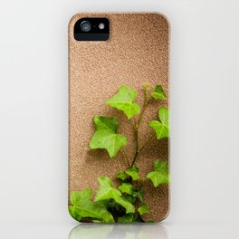 young leaves of hedera helix ivy iPhone Case