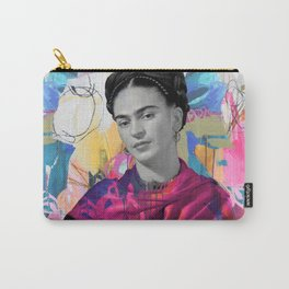 Frida Kahlo Expressionist Carry-All Pouch
