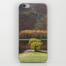 Autumnal colour. Buttermere, Cumbria, UK. iPhone Skin