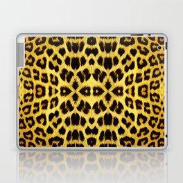 Leopard Print - Gold Laptop & iPad Skin