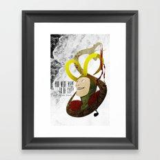 Made to be Ruled : Loki Framed Art Print