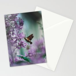 Hummingbird Hawk Moth Stationery Cards