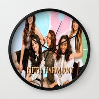 fifth harmony Wall Clocks featuring fifth harmony best design home decoration ideas by customgift