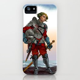 Knight of the Blackrocks iPhone Case