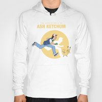tintin Hoodies featuring THE ADVENTURES OF ASH KETCHUM by Akiwa