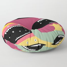 Monster medley. Floor Pillow