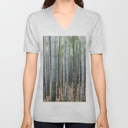 Bamboo Forest Unisex V-Neck