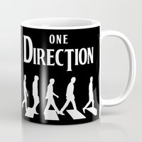 1d Mugs featuring 1D Road by pygmy
