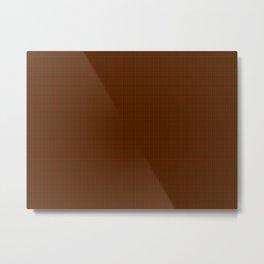 Cameron Tartan Metal Print