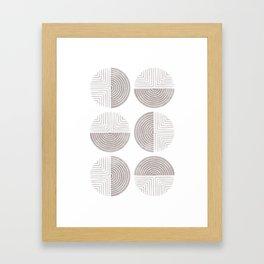 Labyrinth - Ash Framed Art Print