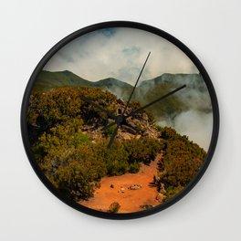 Pico Ruivo Wall Clock