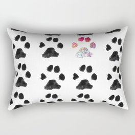 Adopt. Dont. Shop. Typography Rectangular Pillow