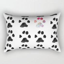 Adopt. Dont. Shop. Typography Rectangular Pillow