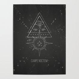 Carpe noctem Poster