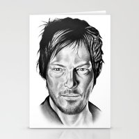 daryl Stationery Cards featuring Daryl Dixon by 13 Styx