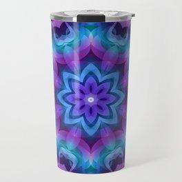 Floral Abstract G269 Travel Mug