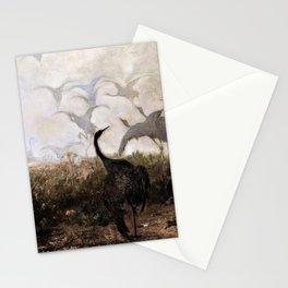 Jozef Chelmonski - Cranes - Digital Remastered Edition Stationery Cards