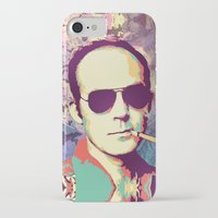 hunter s thompson iPhone & iPod Cases featuring Hunter S. Thompson by victorygarlic - Niki