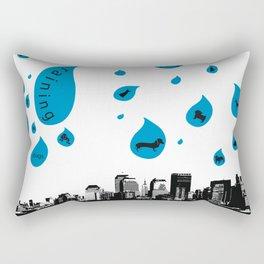 Raining Cats & Dogs Rectangular Pillow