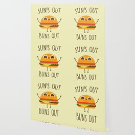 Sun's Out, Buns Out, Funny, Cute, Quote Wallpaper