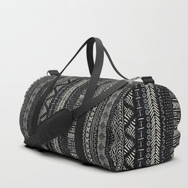 Mud Cloth Stripe Duffle Bag
