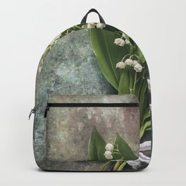 Beautiful Lily Of The Valley Backpack
