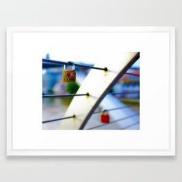 Love Locks 2012 08 Framed Art Print