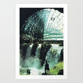 SubCulture (imaginary cities) Art Print
