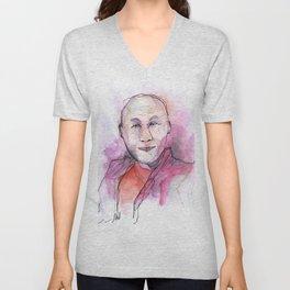 Dalai Lama Unisex V-Neck